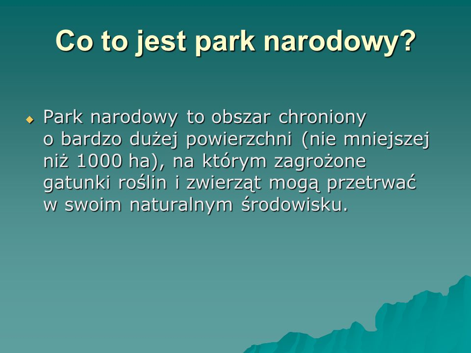 Położenie Ojcowskiego Parku  Znajduje się on w Polsce południowej, w powiecie krakowskim, w województwie małopolskim.