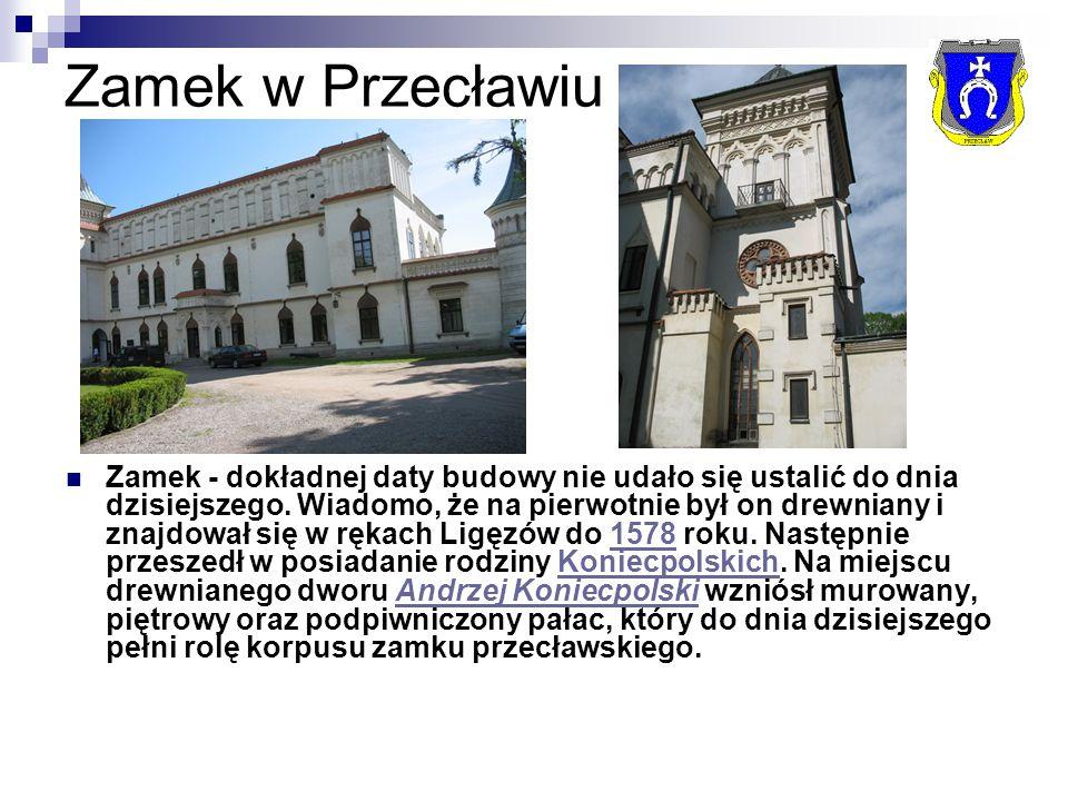 Zamek w Przecławiu Zamek - dokładnej daty budowy nie udało się ustalić do dnia dzisiejszego.