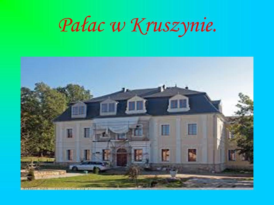 Pałac w Kruszynie.