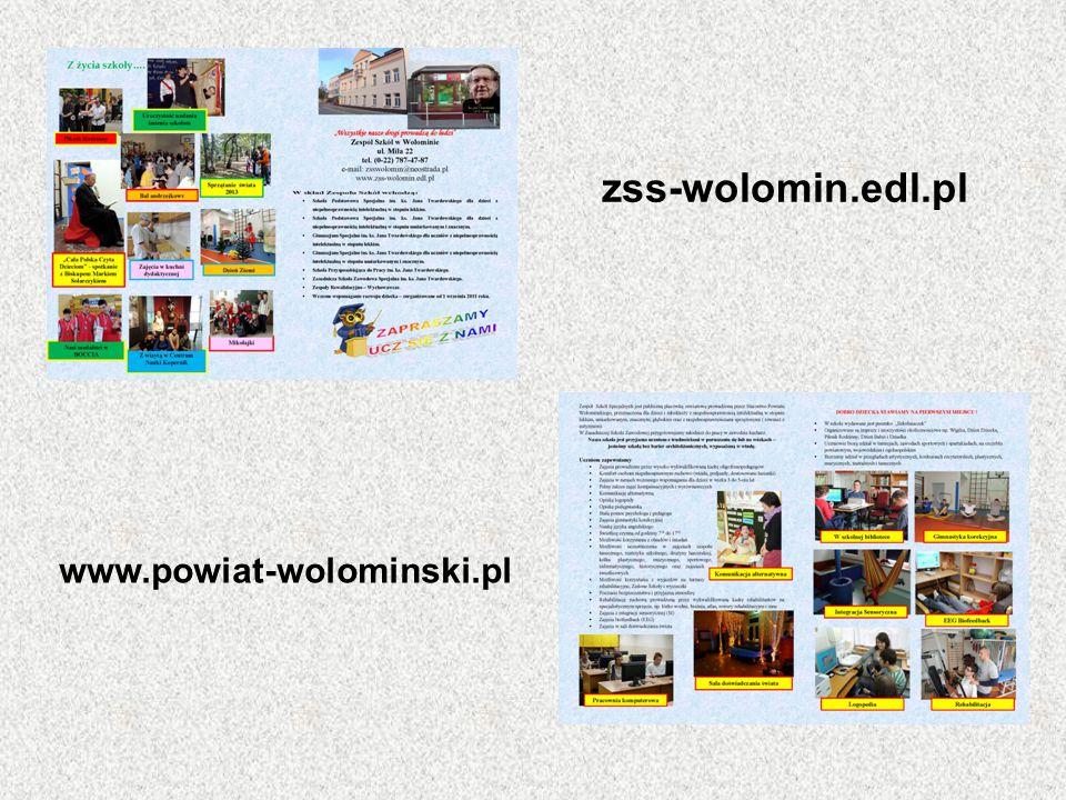 zss-wolomin.edl.pl www.powiat-wolominski.pl