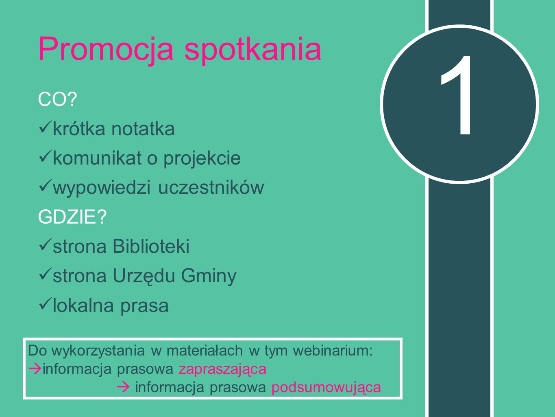 CO.krótka notatka komunikat o projekcie wypowiedzi uczestników GDZIE.