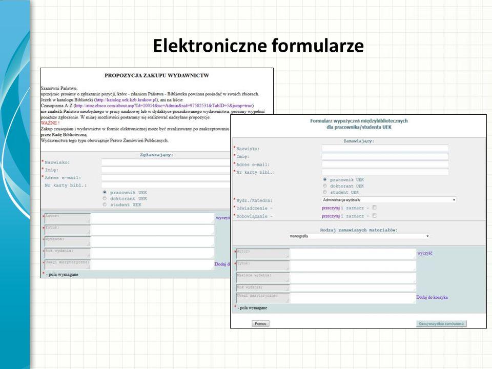 Elektroniczne formularze