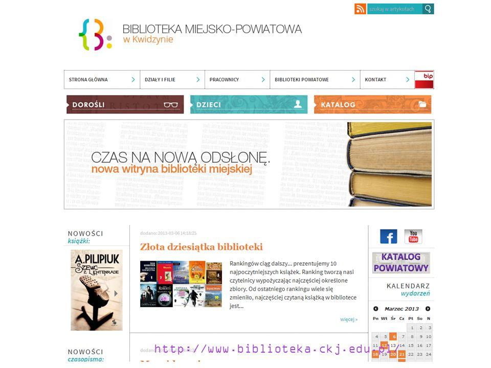 http://www.biblioteka.ckj.edu.pl/