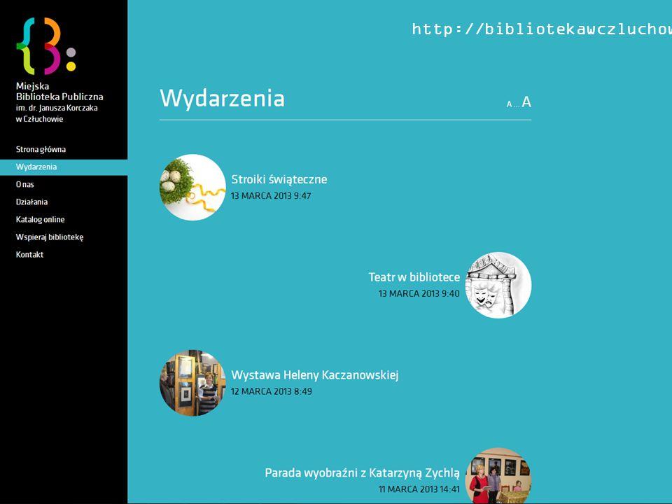 http://bibliotekawczluchowie.pl/