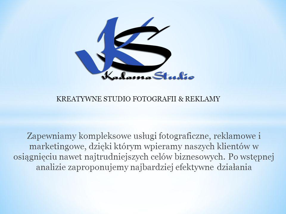 Zapewniamy kompleksowe usługi fotograficzne, reklamowe i marketingowe, dzięki którym wpieramy naszych klientów w osiągnięciu nawet najtrudniejszych celów biznesowych.