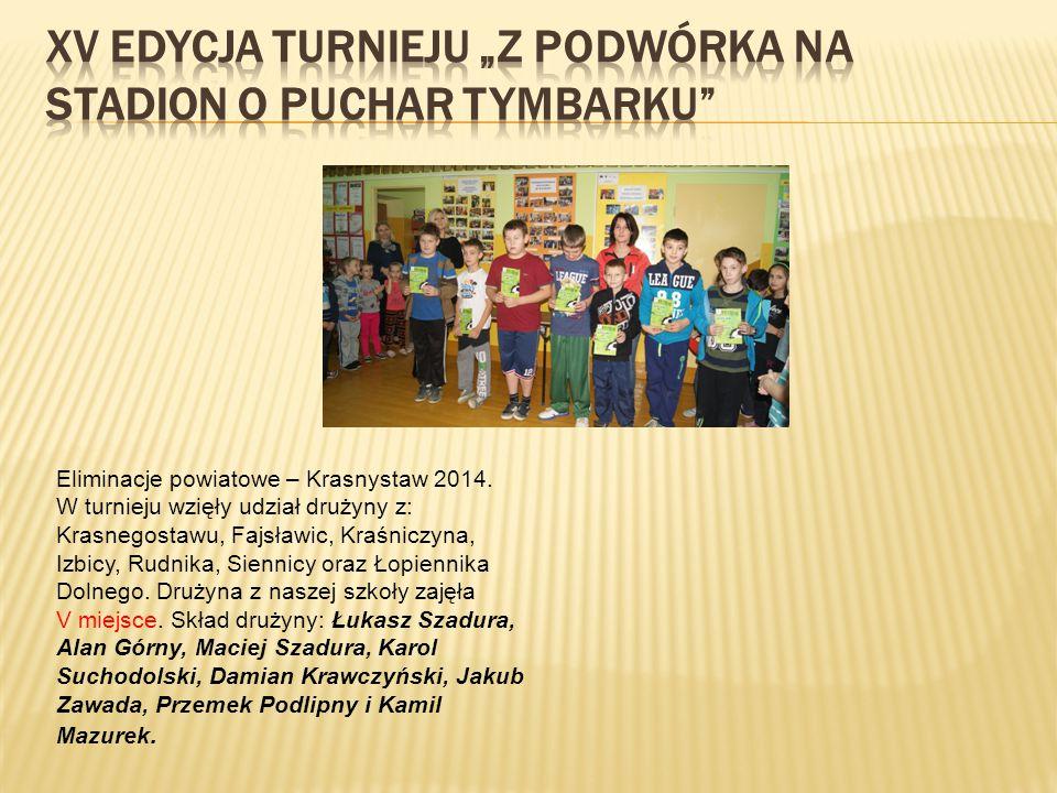 Eliminacje powiatowe – Krasnystaw 2014.