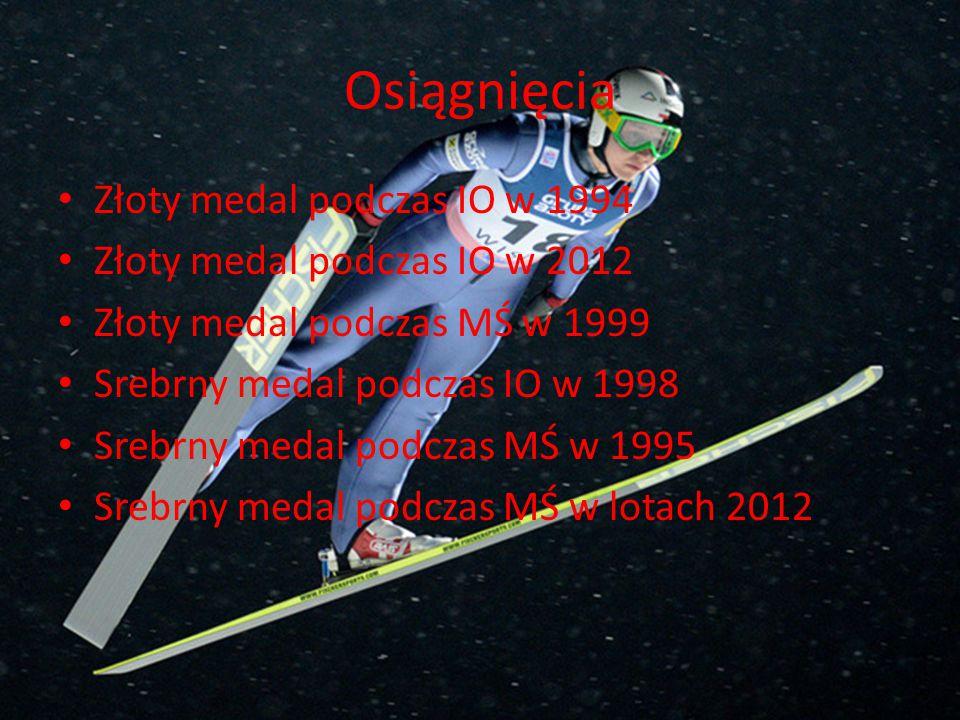 Osiągnięcia Złoty medal podczas IO w 1994 Złoty medal podczas IO w 2012 Złoty medal podczas MŚ w 1999 Srebrny medal podczas IO w 1998 Srebrny medal po