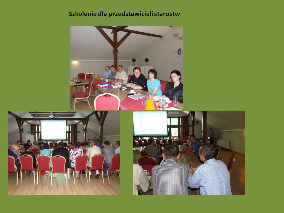 Szkolenie dla przedstawicieli starostw