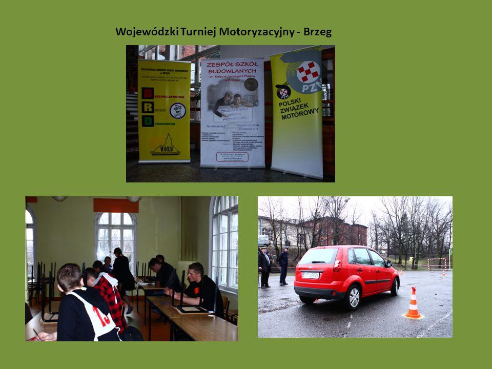 Wojewódzki Turniej Motoryzacyjny - Brzeg