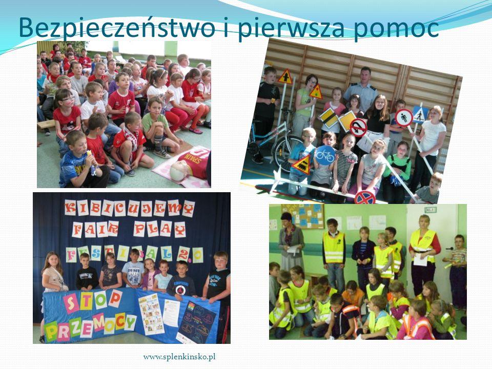 Bezpieczeństwo i pierwsza pomoc www.splenkinsko.pl