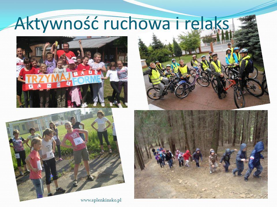 Aktywność ruchowa i relaks www.splenkinsko.pl