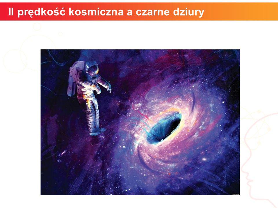 II prędkość kosmiczna a czarne dziury