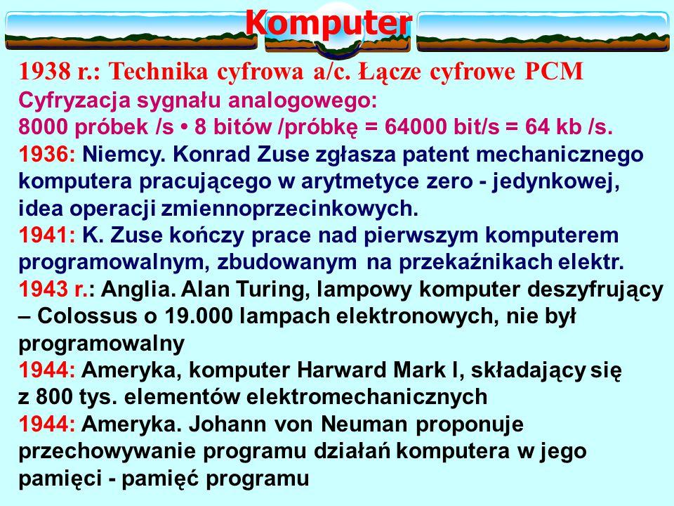 1938 r.: Technika cyfrowa a/c.