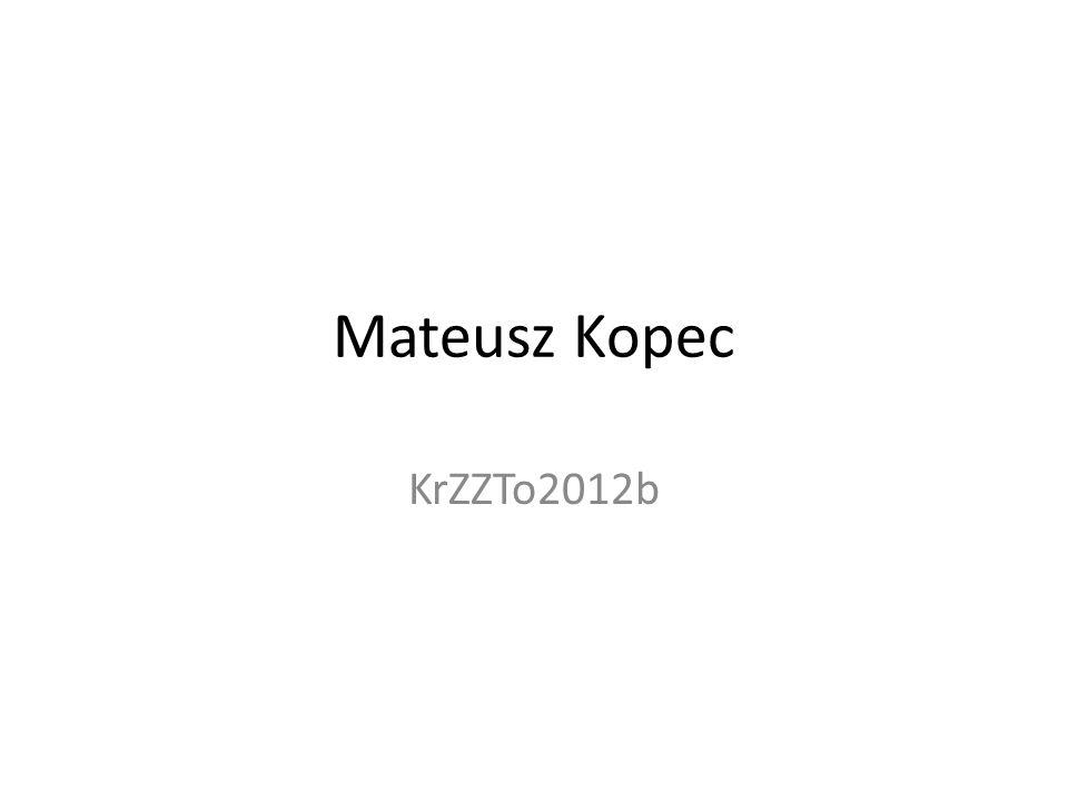 Mateusz Kopec KrZZTo2012b