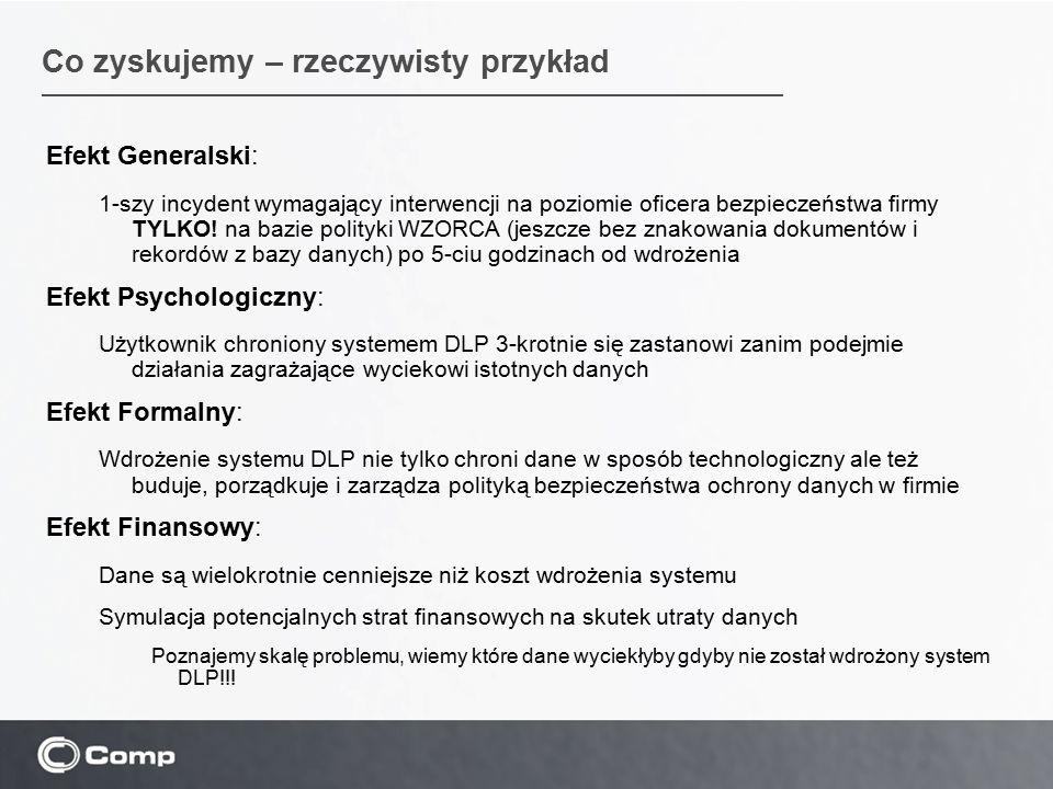 Efekt Generalski: 1-szy incydent wymagający interwencji na poziomie oficera bezpieczeństwa firmy TYLKO.