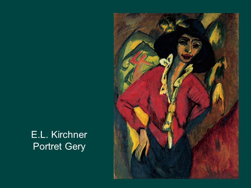 E.L. Kirchner Portret Gery