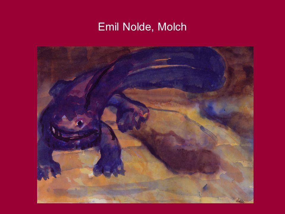 Emil Nolde, Molch