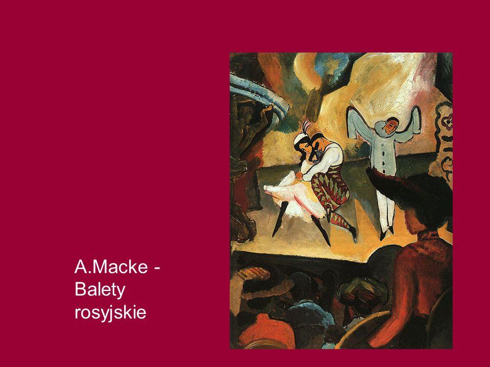 A.Macke - Balety rosyjskie