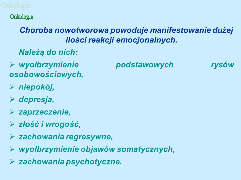 Leki chemioterapeutyczne 1.