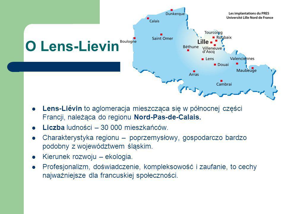 O Lens-Lievin Lens-Liévin to aglomeracja mieszcząca się w północnej części Francji, należąca do regionu Nord-Pas-de-Calais.