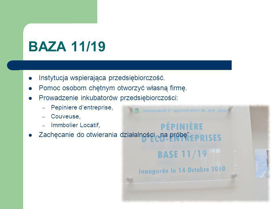 BAZA 11/19 Instytucja wspierająca przedsiębiorczość.