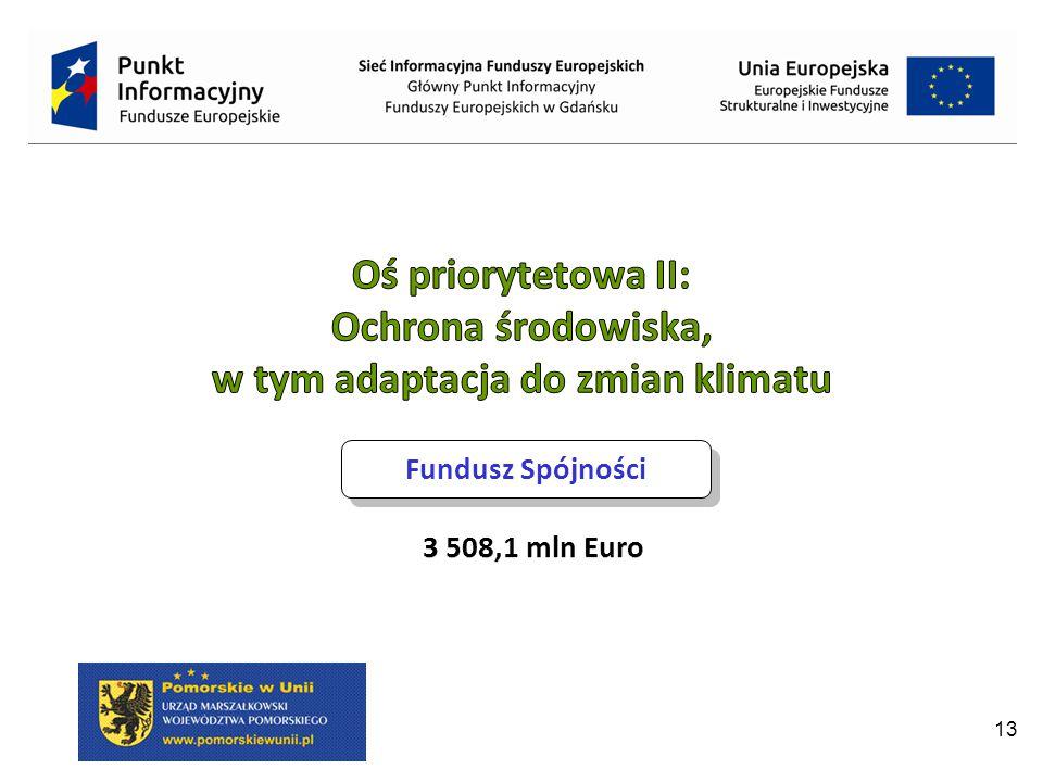 13 Fundusz Spójności