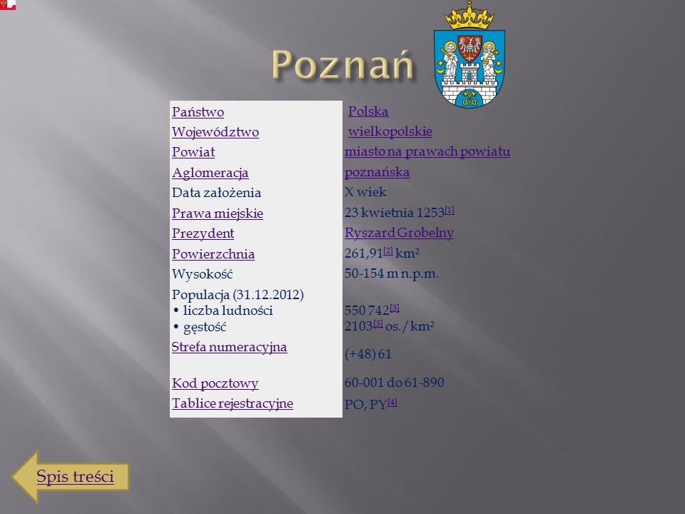 Spis treści Poznań