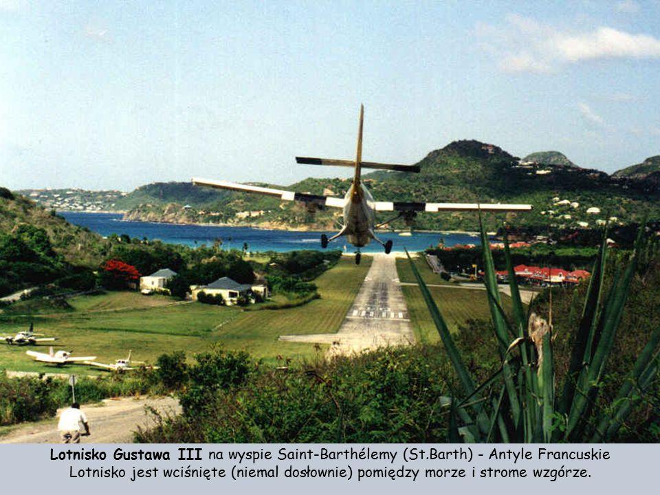 Saint-Barthélemy (St.Barth) - Antyle Francuskie, przed lądowaniem