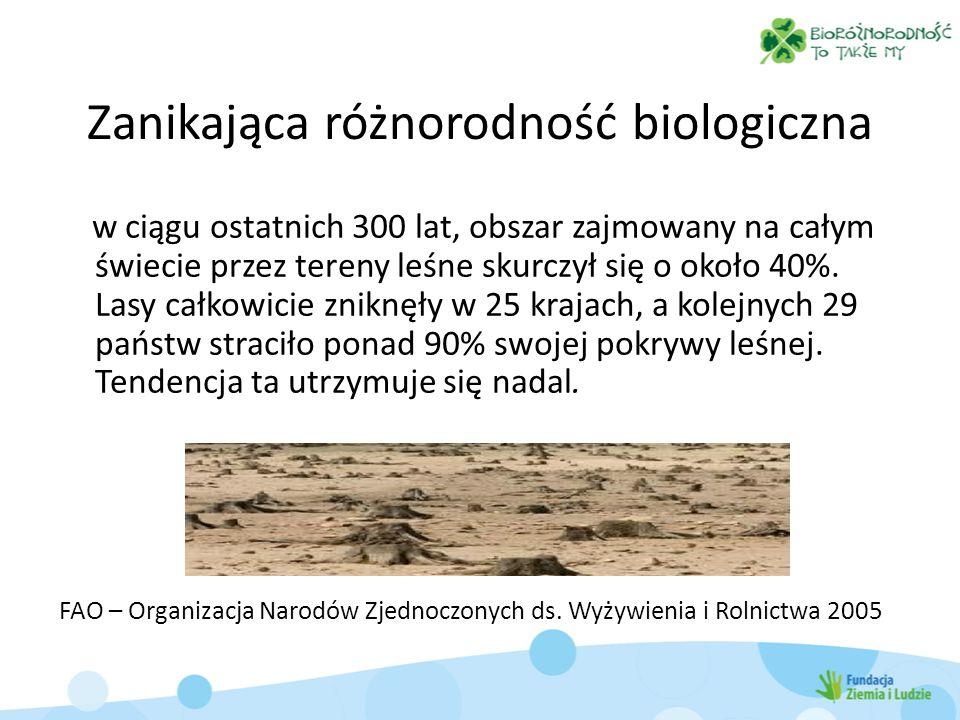 Plony Zwierzęta hodowlane Akwakultura Sekwestracja węgla Połowy ryb Żywność (dzika przyroda) Drewno jako źródło energii Zasoby genetyczne Biochemikalia Słodka woda Powietrze (oczyszczanie) Regionalna i lokalna regulacja klimatu Regulacja erozji Woda (oczyszczanie) Szkodniki (regulacja) Zapylanie Substancje toksyczne (reulacja) Wartości duchowe, religijne Wartości estetyczne Drewno Włókna Woda (regulacja) Choroby (regulacja) Rekreacja i ekoturystyka Wzrost (+) Degradacja (-) +/- Degradacja usług ekosystemów Millennium Ecosystem Assessment