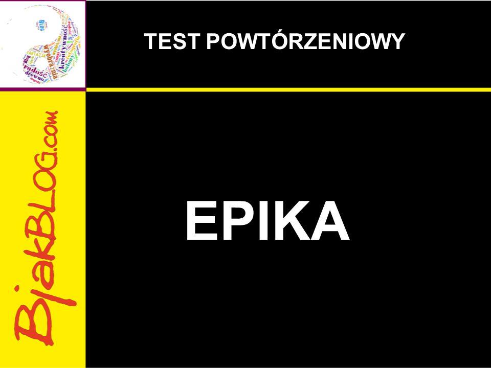 EPIKA TEST POWTÓRZENIOWY