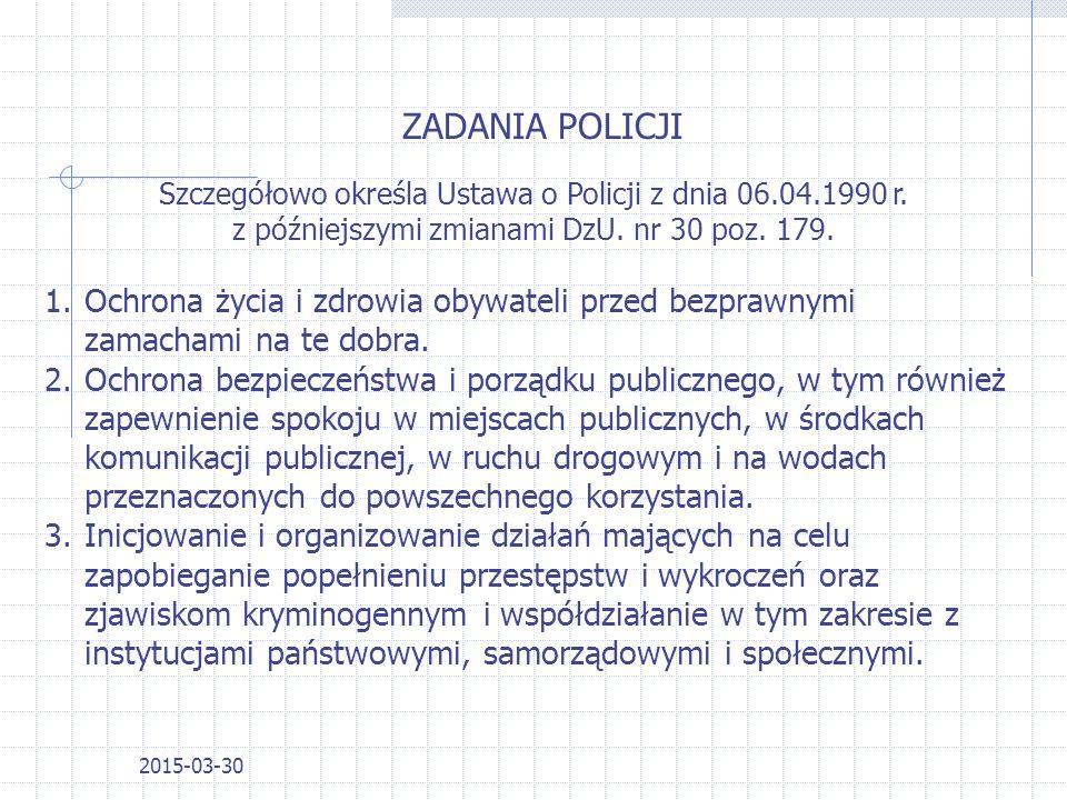 2015-03-30 PION PREWENCYJNY PION KRYMINALNY PION WSPIERAJĄCY ( ADMINISTRACJA, LOGISTYKA ITP.) Struktura policji organizacyjna i funkcjonalna Nadinsp.