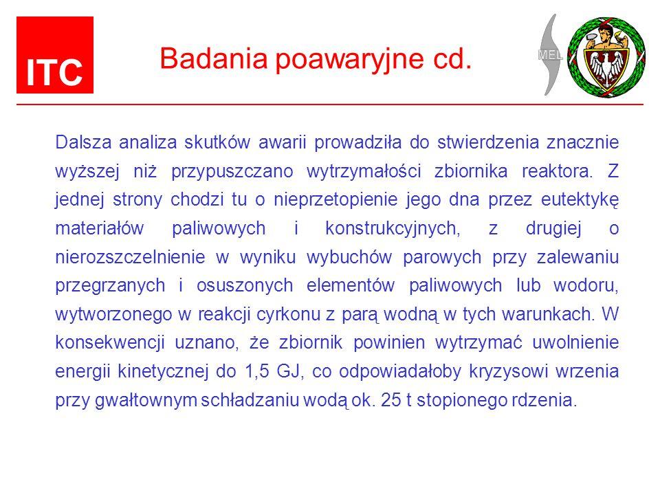 ITC Badania poawaryjne cd.