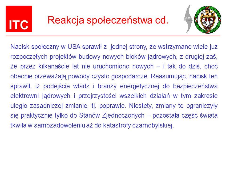 ITC Reakcja społeczeństwa cd.