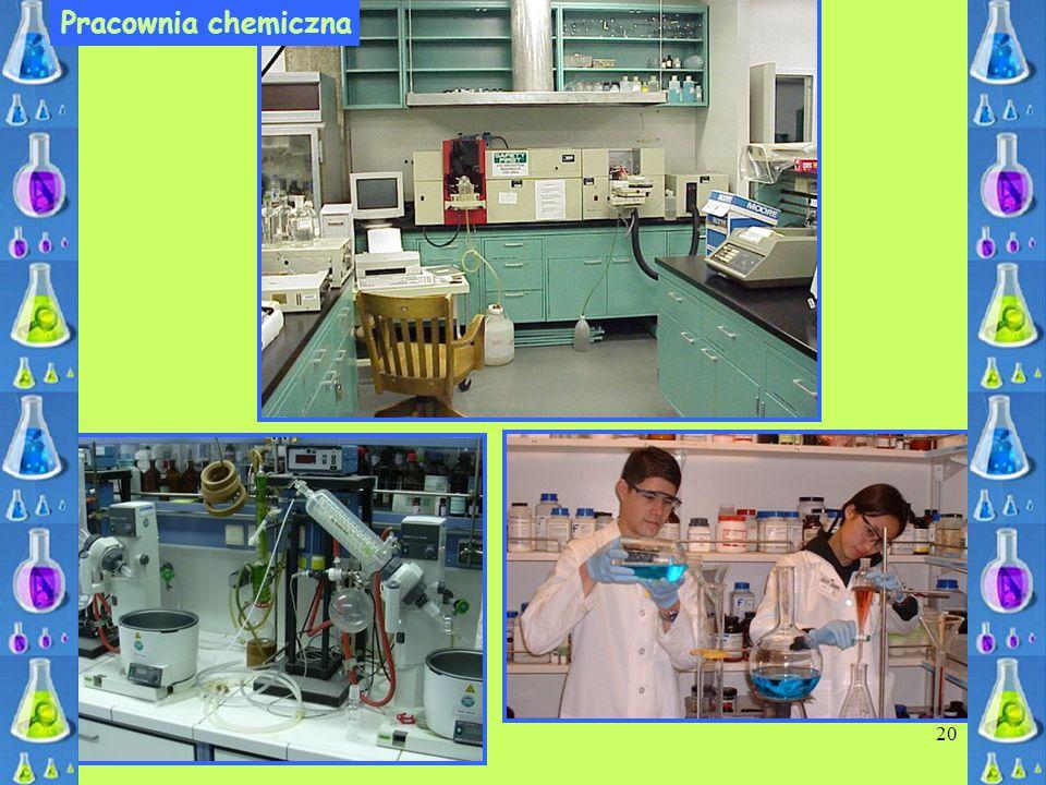 20 Pracownia chemiczna