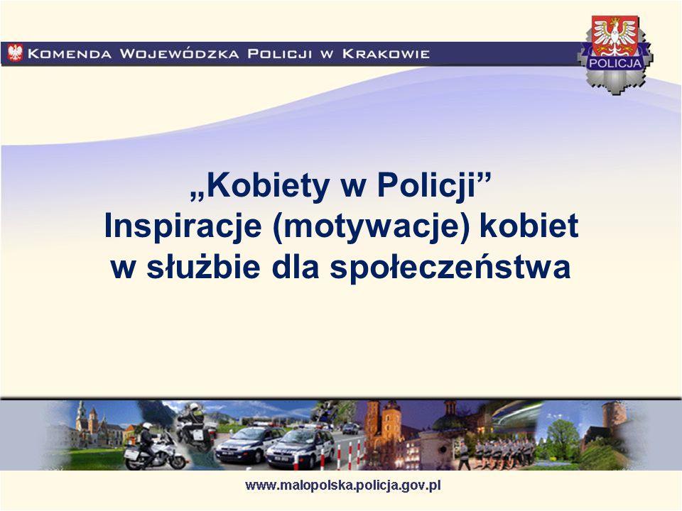 """""""Kobiety w Policji"""" Inspiracje (motywacje) kobiet w służbie dla społeczeństwa"""