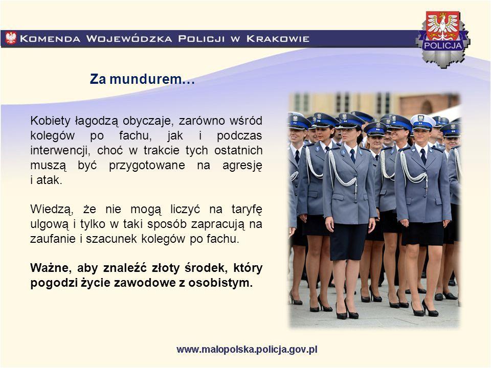 Co siódmy polski policjant to kobieta.