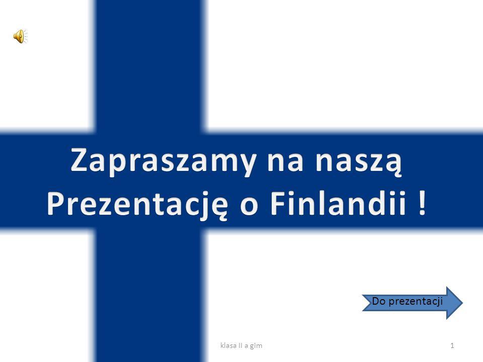Finlandia, Republika Finlandii – państwo w Europie Północnej, powstałe po odłączeniu od Rosji w 1917.