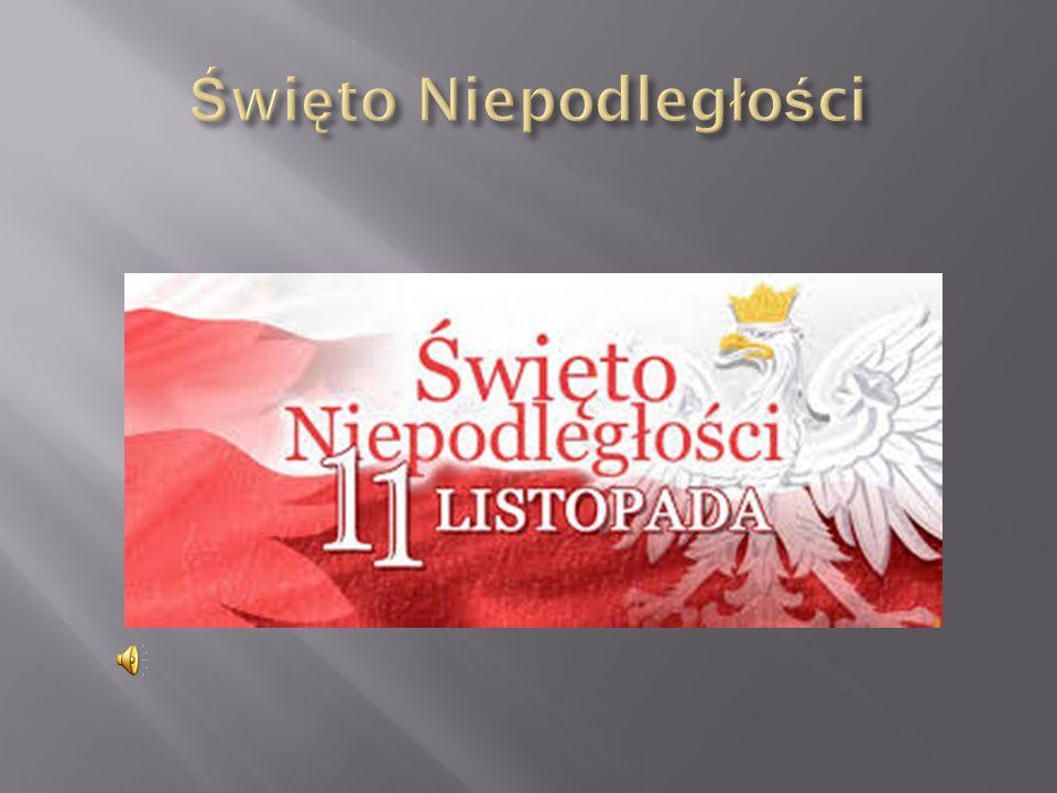 Narodowe Święto Niepodległości to najważniejsze polskie święto narodowe, obchodzone co roku 11 listopada, na pamiątkę odzyskania przez Polskę niepodległości w 1918 roku.