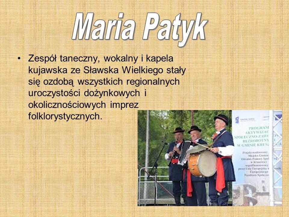 Zespół taneczny, wokalny i kapela kujawska ze Sławska Wielkiego stały się ozdobą wszystkich regionalnych uroczystości dożynkowych i okolicznościowych