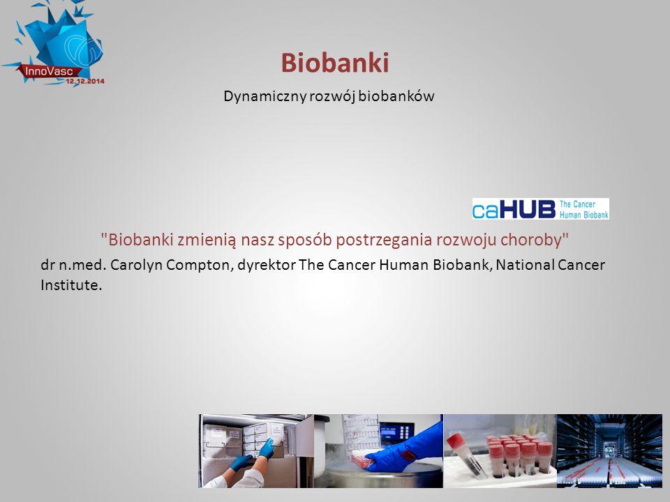 Biobanki zmienią nasz sposób postrzegania rozwoju choroby dr n.med.