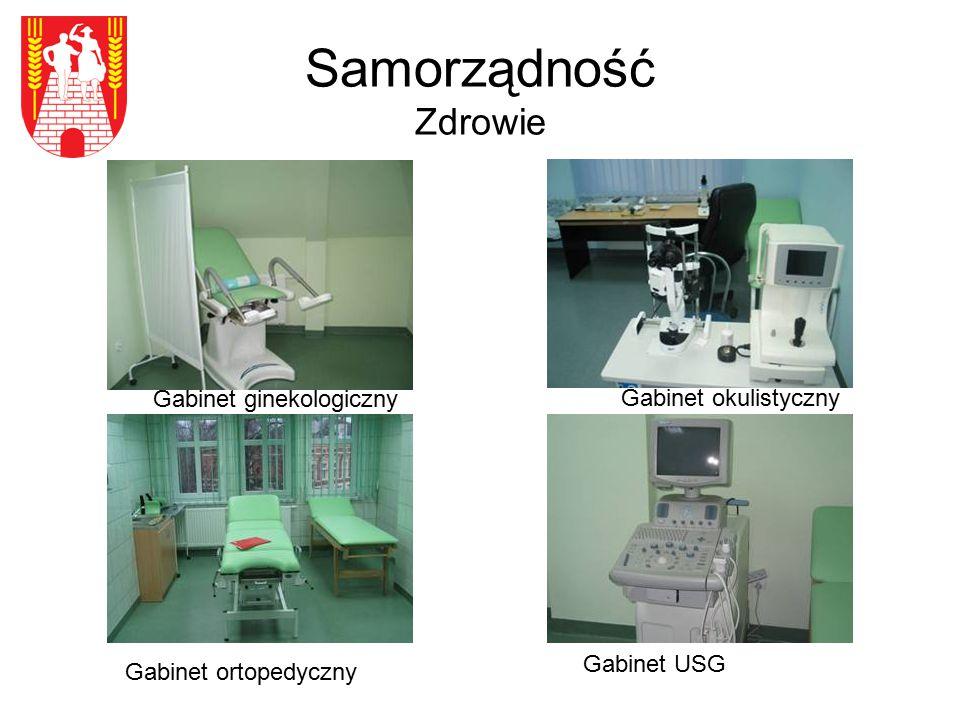 Samorządność Zdrowie Gabinet ortopedyczny Gabinet okulistyczny Gabinet USG Gabinet ginekologiczny