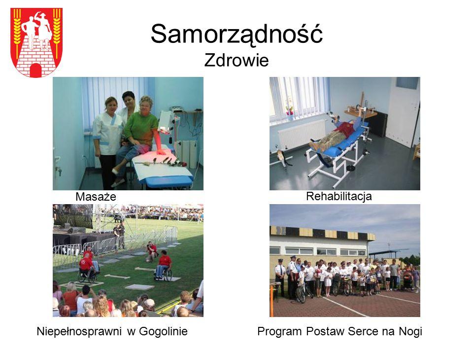 Samorządność Zdrowie Niepełnosprawni w Gogolinie Rehabilitacja Program Postaw Serce na Nogi Masaże