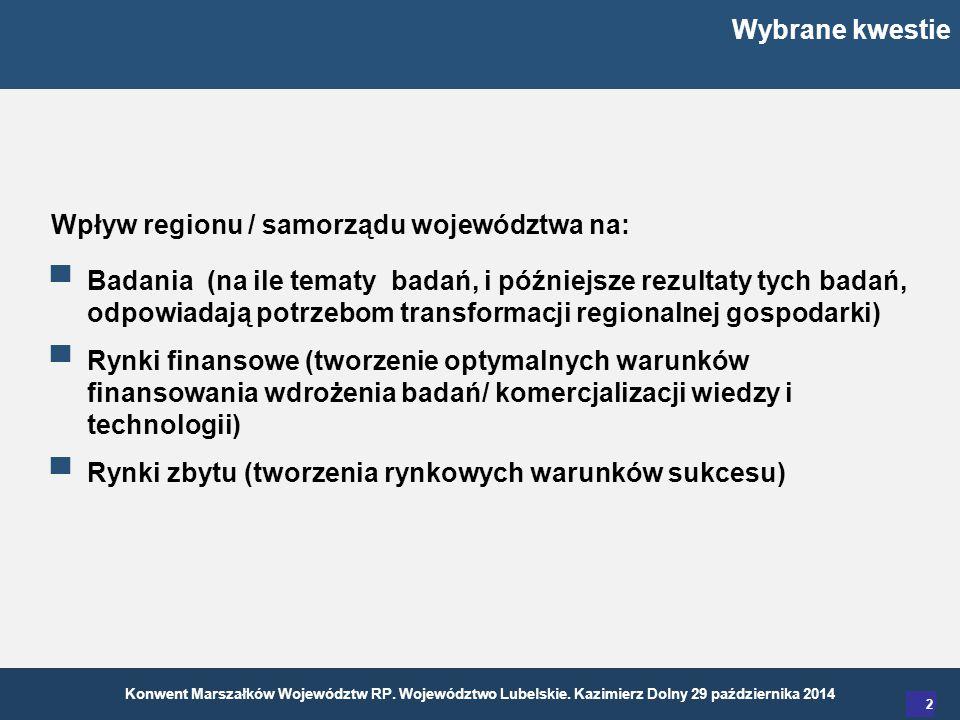 Konwent Marszałków Województw RP. Województwo Lubelskie.