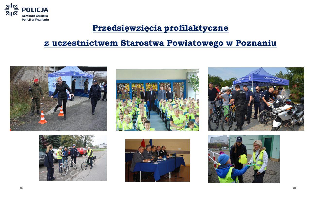 Przedsięwzięcia profilaktyczne z uczestnictwem Starostwa Powiatowego w Poznaniu