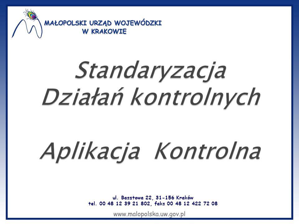 ul. Basztowa 22, 31-156 Kraków tel. 00 48 12 39 21 802, faks 00 48 12 422 72 08
