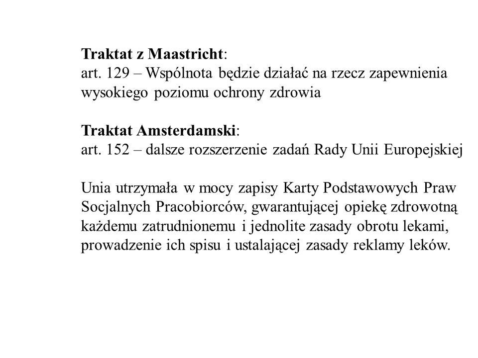 Traktat z Maastricht: art.