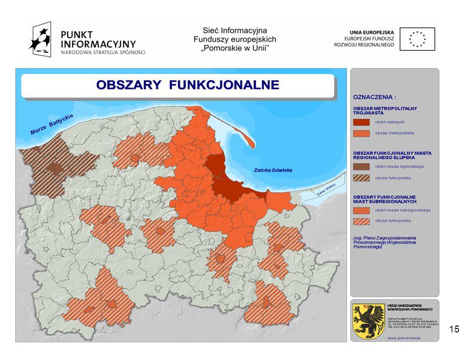 Projekt współfinansowany przez Unię Europejską z Europejskiego Funduszu Rozwoju Regionalnego w ramach Programu Operacyjnego Pomoc Techniczna 2007-2013 15