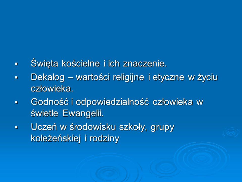 Programy nauczania – gimnazjum Misja Pokoleń - tłumaczenia Misja Pokoleń - tłumaczenia  Kl.