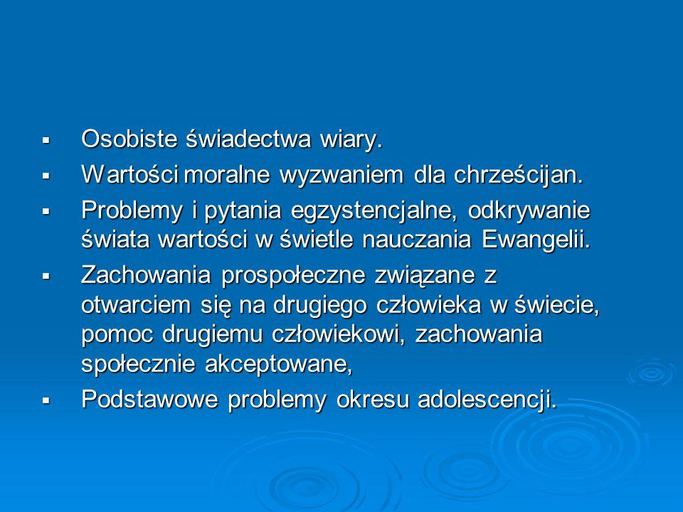 Treści Podstawy Programowej – Ponadgimn.