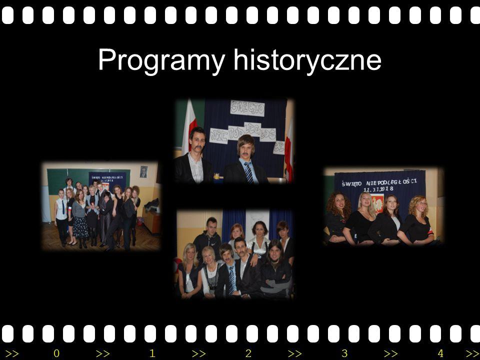 >>0 >>1 >> 2 >> 3 >> 4 >> Programy historyczne
